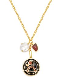 Lizzie Fortunato - Nightfall Pendant Necklace - Lyst