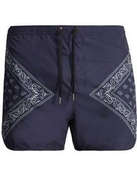 Neil Barrett - Bandana-print Swim Shorts - Lyst
