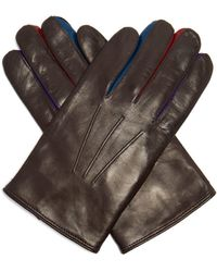 Paul Smith - Constantina Leather Gloves - Lyst