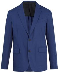 Alexander McQueen | Notch-lapel Cotton-twill Blazer | Lyst