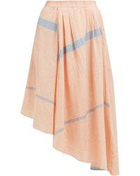 Apiece Apart - Jupe en coton rayé à ourlet à pointes Turkanna - Lyst