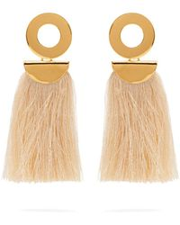 Lizzie Fortunato - Go-go Crater Tassel Earrings - Lyst