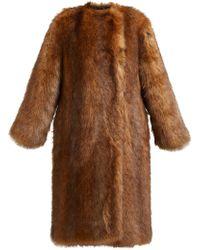 2b7f2c8ba8e Women's Givenchy Fur coats On Sale - Lyst
