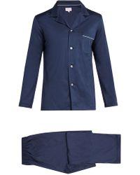 Derek Rose - Bari Modern Fit Cotton Jersey Pyjama Set - Lyst