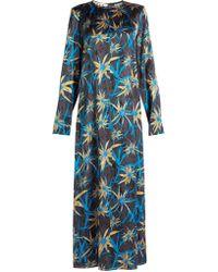 Marni - Herbage-print Shift Dress - Lyst
