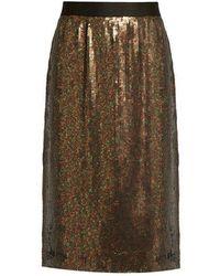 Tibi - Sequin-embellished Skirt - Lyst