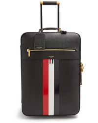 Thom Browne - Pebbled Leather Cabin Suitcase - Lyst