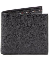 Thom Browne - Bi-fold Pebbled-leather Cardholder - Lyst