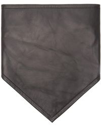 CALVIN KLEIN 205W39NYC - Logo-embroidered Leather Bandana - Lyst