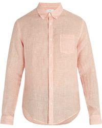 Onia - Jay Linen-blend Shirt - Lyst