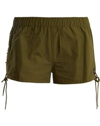 The Upside - Fiesta Cotton Blend Shorts - Lyst
