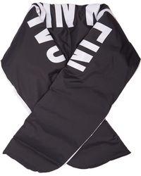 Calvin Klein - Logo Print Down Filled Scarf - Lyst