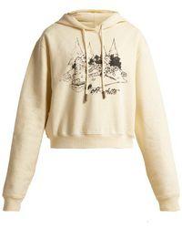 Off-White c/o Virgil Abloh - Sketch Print Hooded Sweatshirt - Lyst