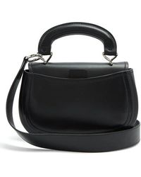 Lemaire - Pumpkin Vegetable-tanned Leather Bag - Lyst
