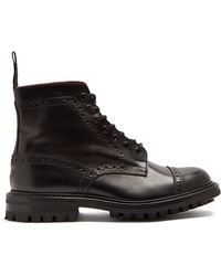 Junya Watanabe | X Trickers Leather Ankle Boots | Lyst
