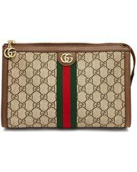 Gucci - Ophidia Logo Canvas Washbag - Lyst