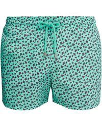 aebbdf728778 Vilebrequin Moorea Turtle Sweater Print Swim Shorts in Blue for Men ...