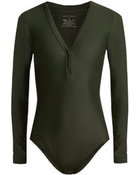 Matteau - The Long Sleeve Maillot Swimsuit - Lyst