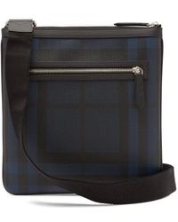 Burberry - Beckley Checked Cross-body Bag - Lyst