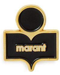 Isabel Marant - Delicate Logo Pin - Lyst