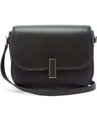Valextra - Iside Cross Body Grained Leather Bag - Lyst