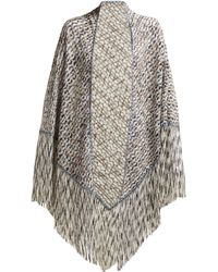 Missoni - Exaggerated Fringe Scarf - Lyst