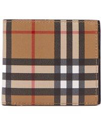 a46258011385 Lyst - Burberry Wallets - Men s Wallets   Card Holders