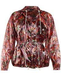 Isabel Marant - Olaz Floral-print Hooded Jacket - Lyst