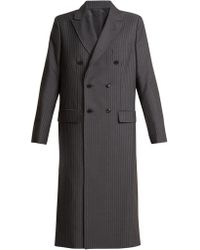 Toga - Oversized Double-breasted Pvc Cut-out Coat - Lyst