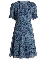 Altuzarra - Jae Leopard-print Silk Midi Dress - Lyst