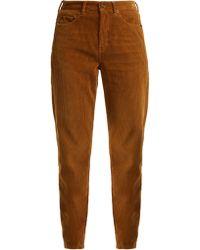 Saint Laurent - Straight Leg Corduroy Jeans - Lyst
