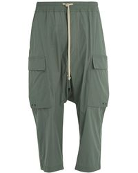 Rick Owens - Pantaloni Cargo Cropped Trousers - Lyst