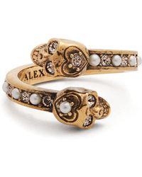 Alexander McQueen - Embellished-skull Ring - Lyst