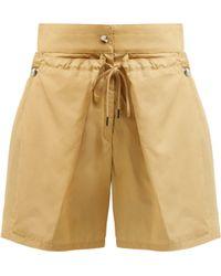 JOSEPH - Pete Cotton Blend Shorts - Lyst