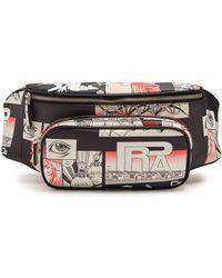 Prada - All Designer Products - Comic-strip Print Leather Belt Bag - Lyst