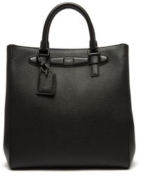 Dolce & Gabbana - Large Leather Tote Bag - Lyst