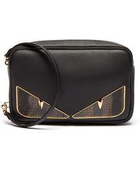 Fendi - Sac rectangulaire en cuir Bag Bugs - Lyst