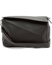 Loewe - Puzzle Large Leather Bag - Lyst