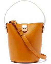 Sophie Hulme - Nano Swing Leather Bucket Bag - Lyst
