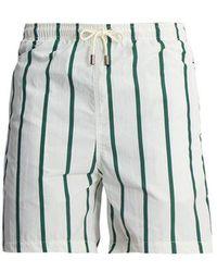 Solid & Striped - Classic Striped Swim Shorts - Lyst
