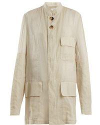 Wales Bonner - Panelled Cotton-voile Jacket - Lyst