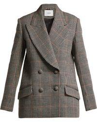 Erdem - Jasper Houndstooth-checked Wool Blazer - Lyst