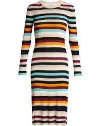 Altuzarra - Stills Striped Knit Dress - Lyst
