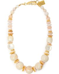 Lizzie Fortunato - Quarry 18kt Gold Plated Necklace - Lyst