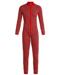 Perfect Moment - Frequency Intarsia Wool Knit Jumpsuit - Lyst