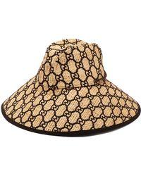 Gucci Hat With Interlocking G Motif