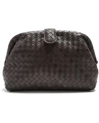 Bottega Veneta | The Lauren 1980 Intrecciato-leather Clutch | Lyst