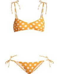 Lisa Marie Fernandez - Nicole Polka-dot Bikini - Lyst