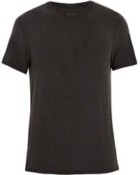 ATM - Crew-neck Washed-jersey T-shirt - Lyst
