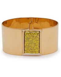 Isabel Marant - Marbled Stone-embellished Cuff - Lyst